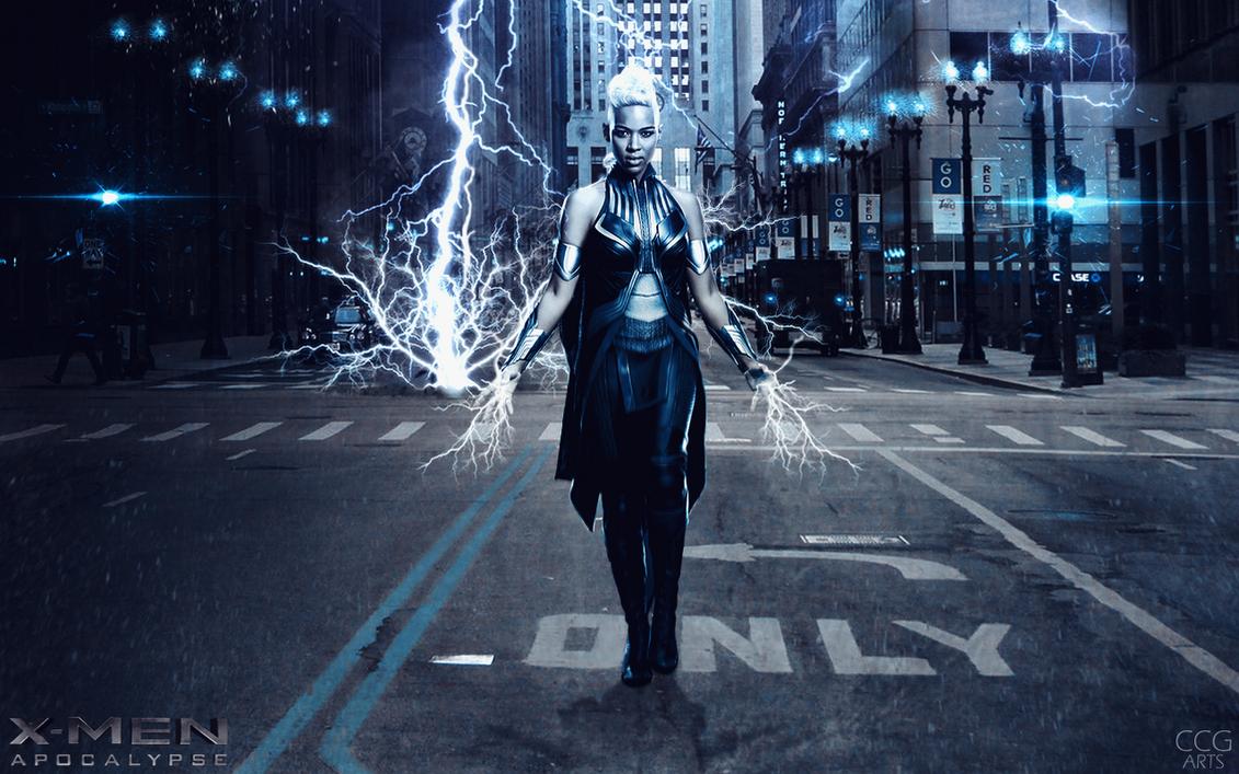 Storm X Men Wallpaper 63 Images: Collection Wallpaper X-Men Apocalypse (Storm) By CCG-ARTS
