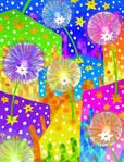 -Dandelions-Dientes de leon- Just color by Inkolored