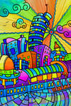 -Funky town- Color by Inkolored
