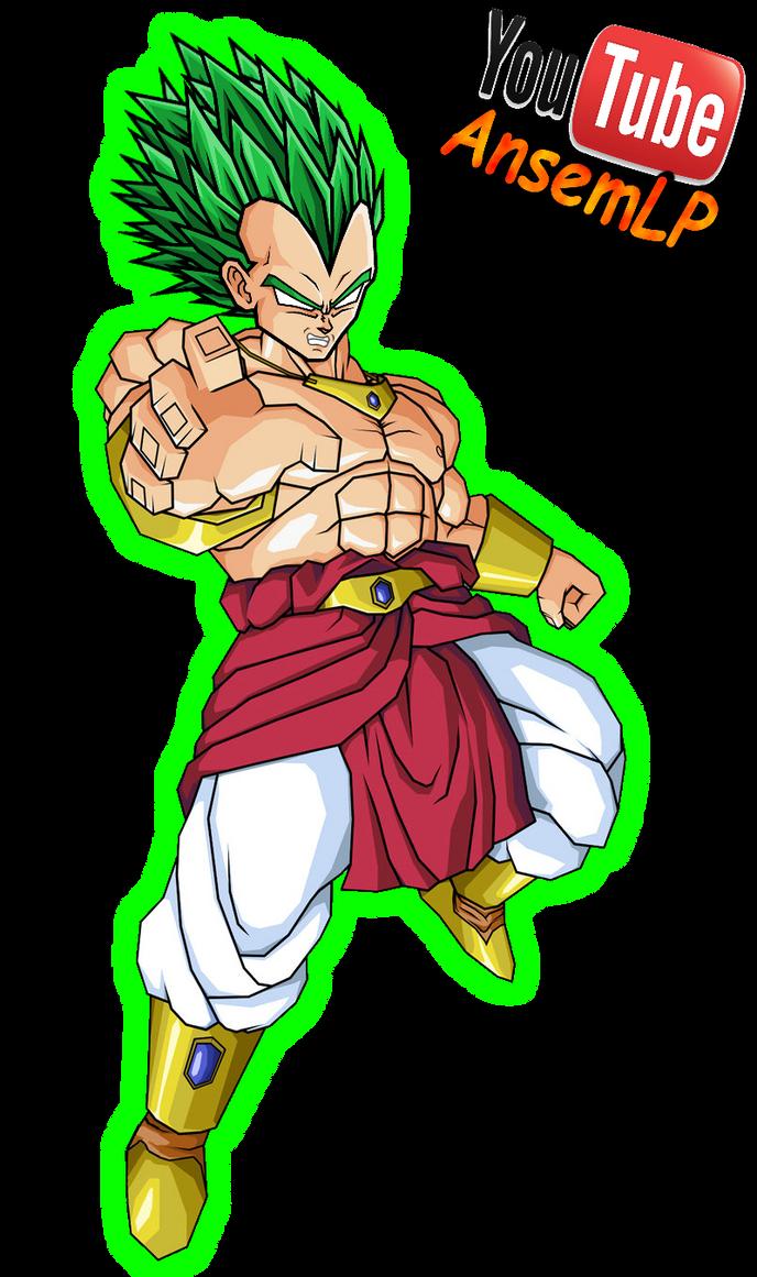 Vegeta Legendarer Super Saiyajin V2 by ansemporo002