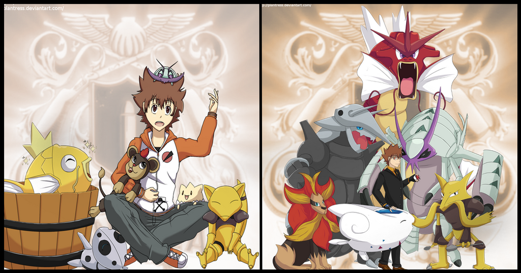 Pokemon/KHR: Sky Evolutions by Plantress