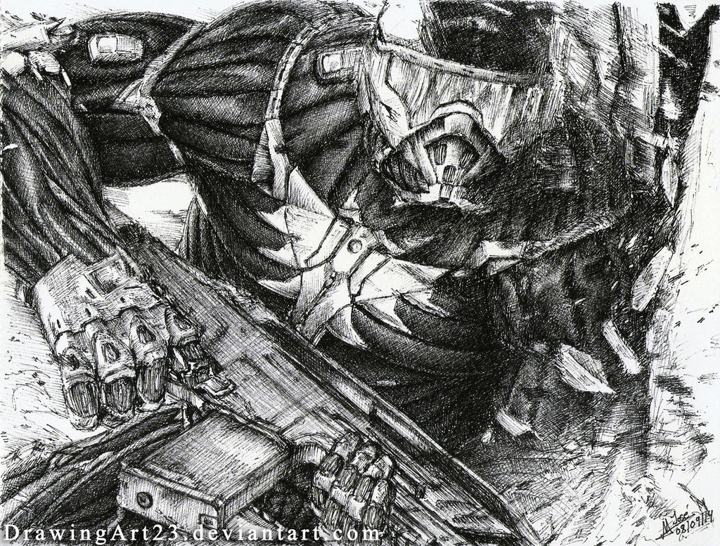 Crysis2 - Gift. by DrawingArt23