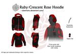 Ruby/Cresent Rose Hoodie