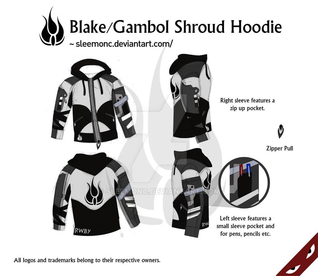 Blake/Gambol Shroud Hoodie by Sleemonc