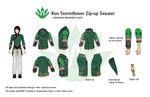 Ren / Stormflower Zip-up Sweater