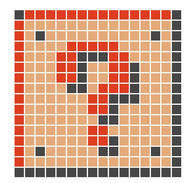 Mario Block Pixel Art Grid | www.imgkid.com - The Image ...