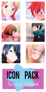 Icon Pack | Tsurezure Children