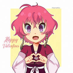 Happy Valentines   Yona by Haanakko