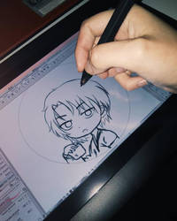 New graphic tablet! by Haanakko
