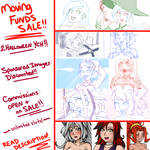 MOVING FUNDS: Commission Sales and Discounts!!
