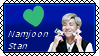 BTS Kim Namjoon [Custom Stamp] [F2U] by NekoAtsumeChan