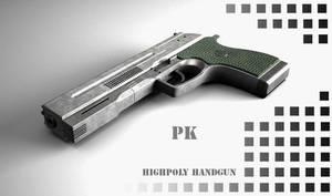 handgun by peterku