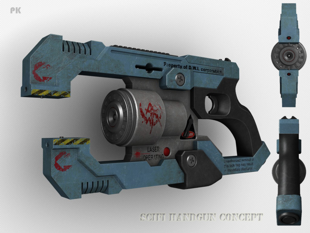 Laser gun by peterku