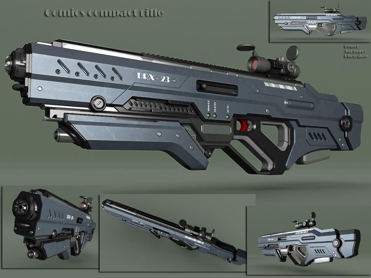 comics compact rifle by peterku