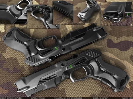 Energy handgun by peterku
