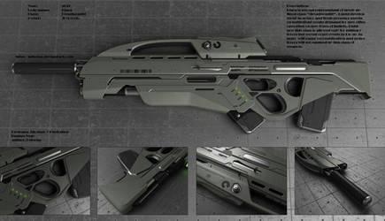 Kiara rifle by peterku