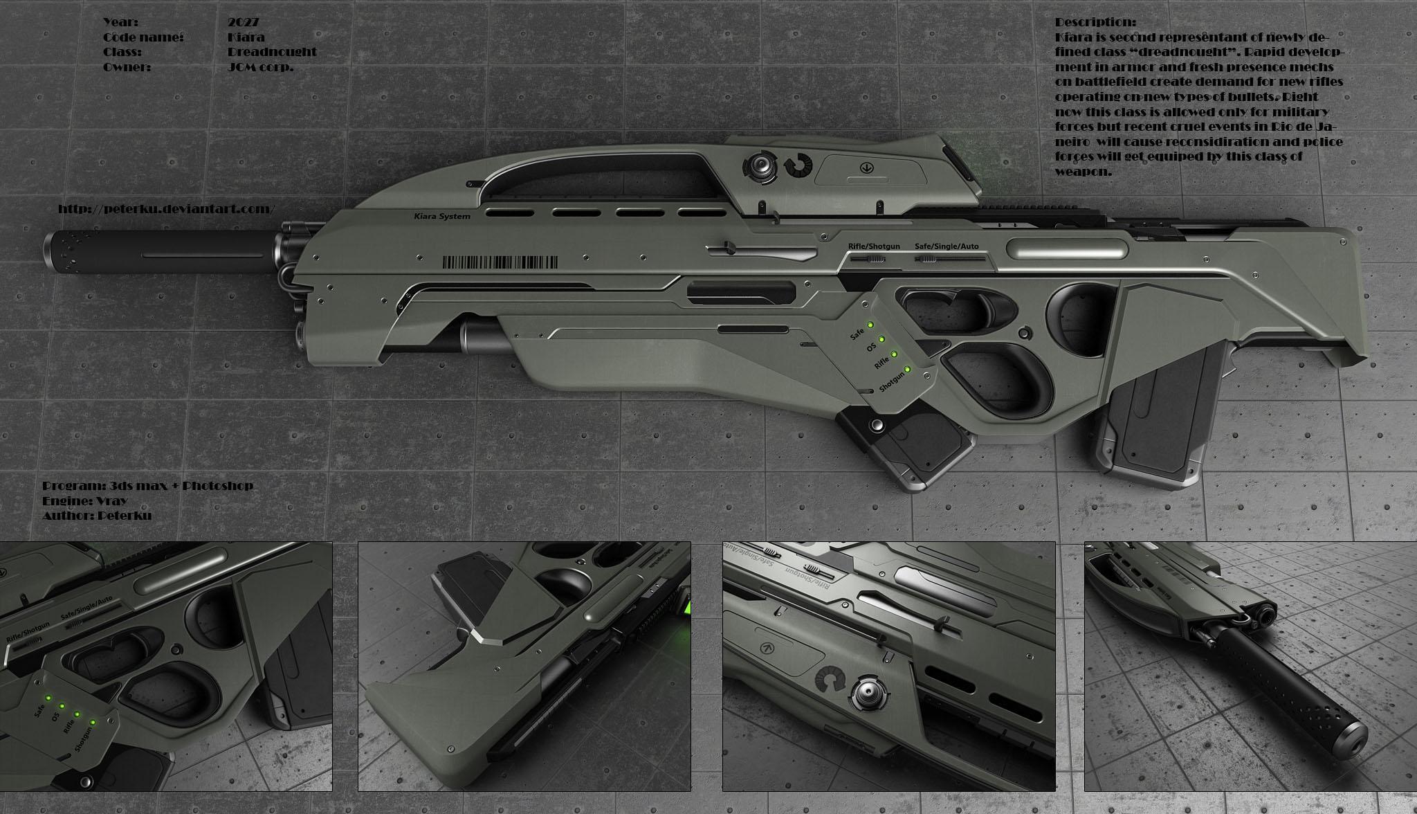 Kiara rifle by peterku...