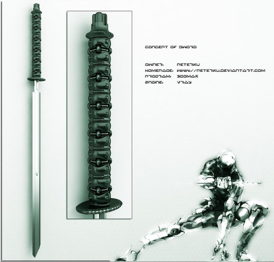 AKI sword concept by peterku