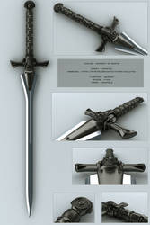Achlys - concept of sword by peterku