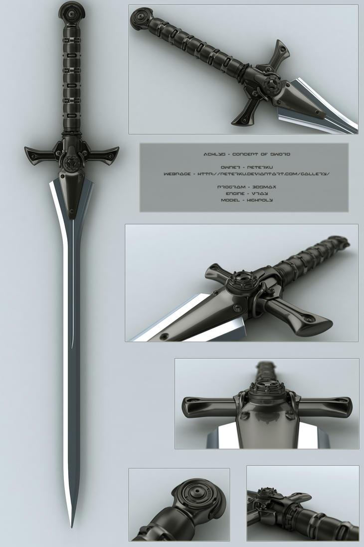 Achlys - concept of sword by peterku