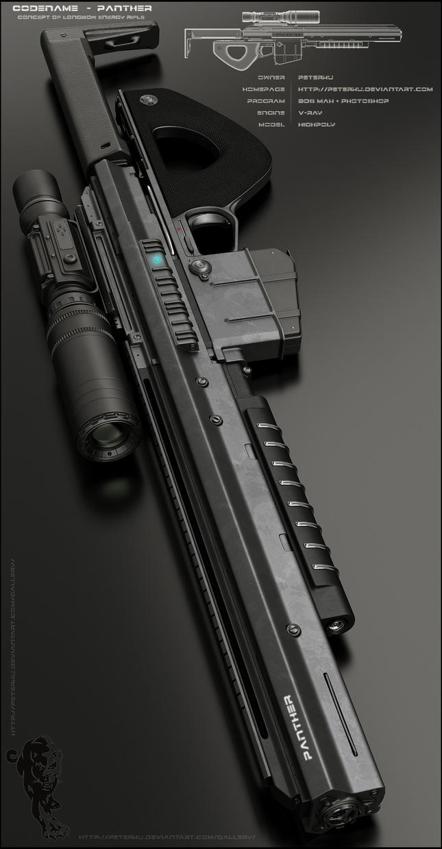 PANTHER Rifle - Main by peterku