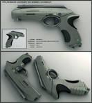 Polar Bear - scifi handgun