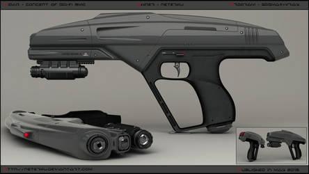 VIDAR - concept of SMG. by peterku