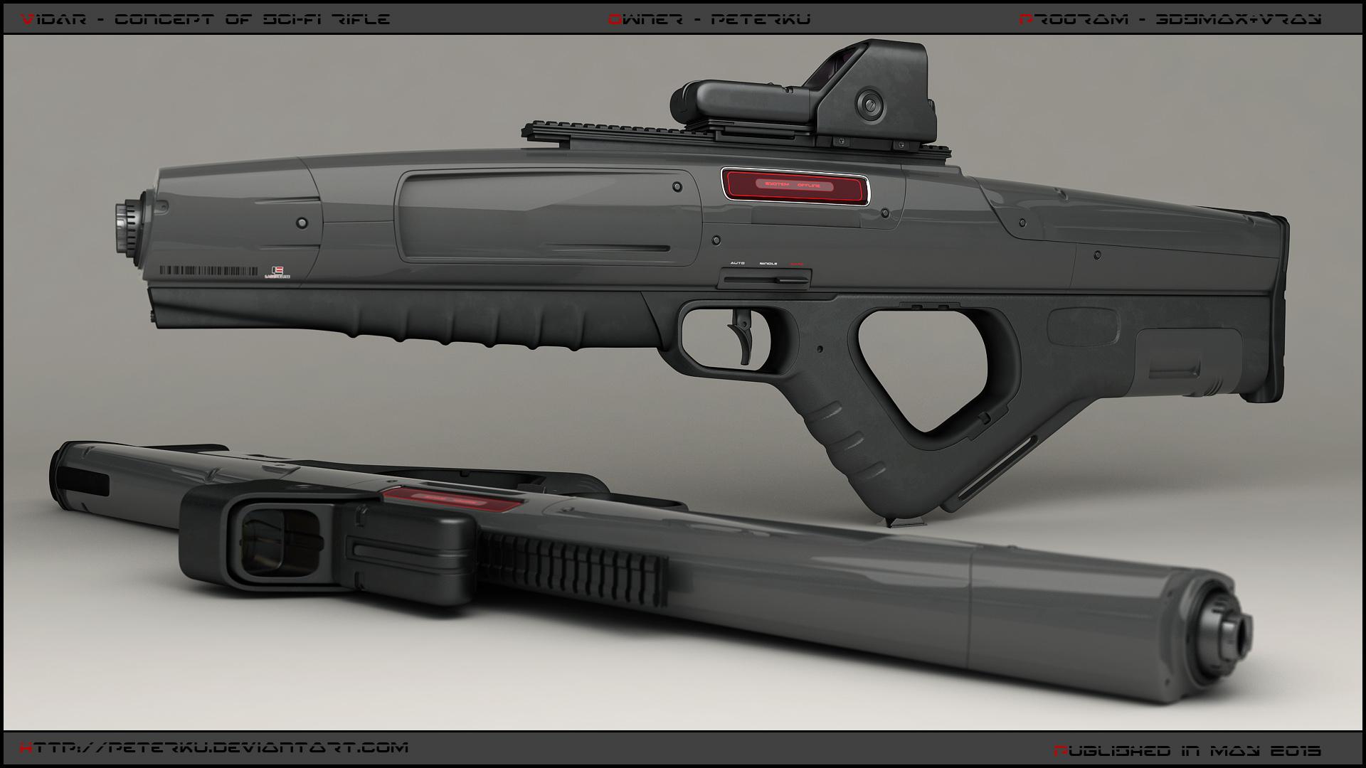 Vidar-rifle-main by peterku