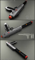 HK-scifi handgun / PDW