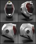 Concept of Astronaut helmet