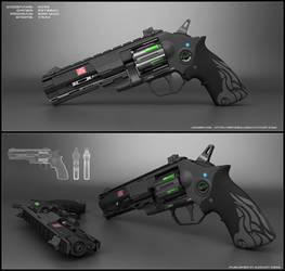 Nova - sci fi revolver concept