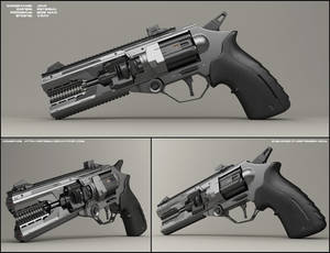 Jaw - concept of sci fi handgun