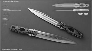 Throwing knife concept