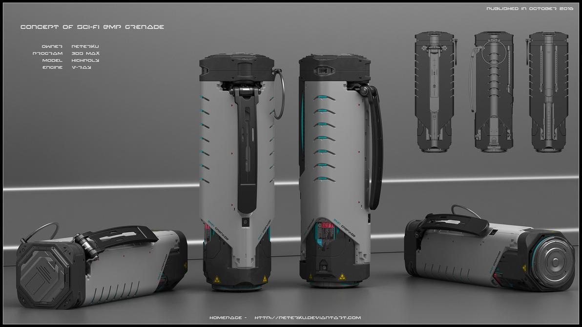 EMP grenade by peterku