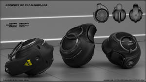 Frag grenade concept
