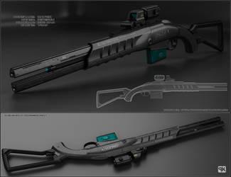 Mavric - sci fi shotgun
