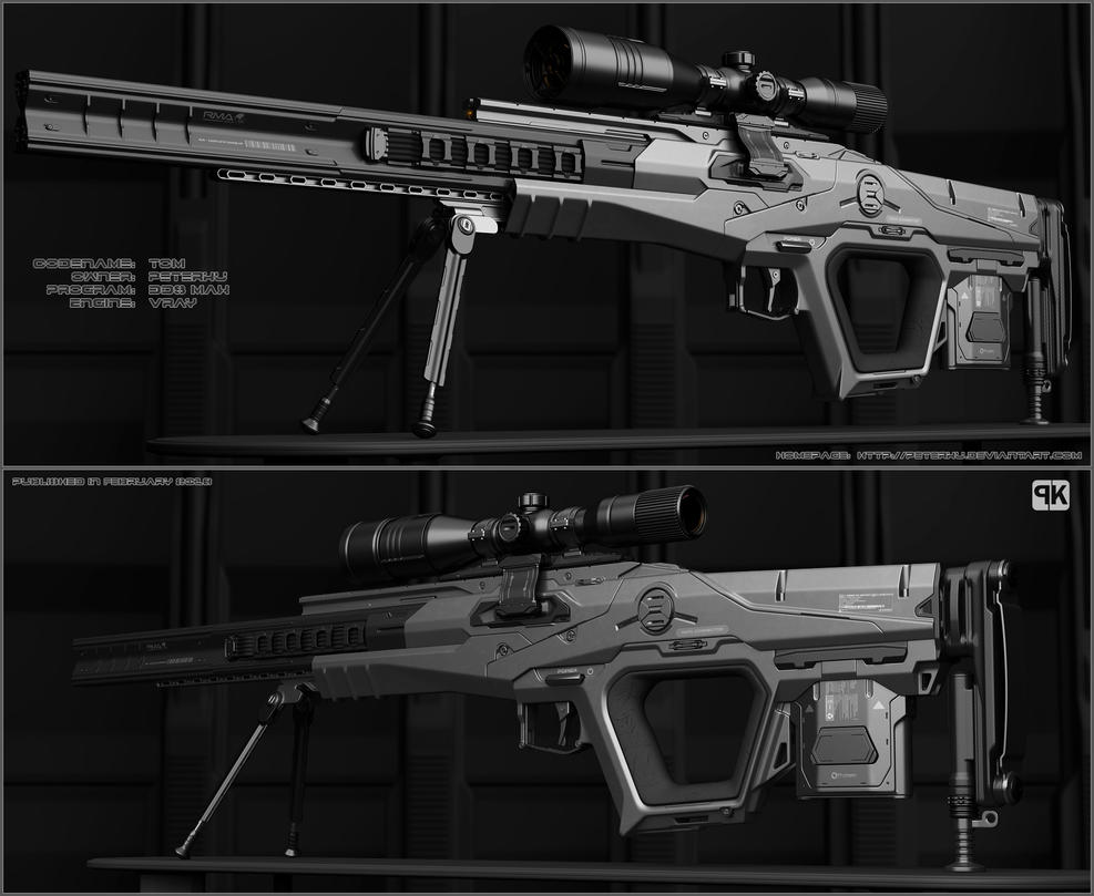 TOM -sniper rifle by peterku
