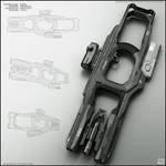 Fork - concept of sci fi gun