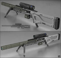 TEK - sniper rifle by peterku