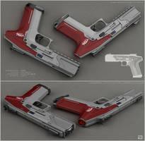 Sws - sci fi handgun