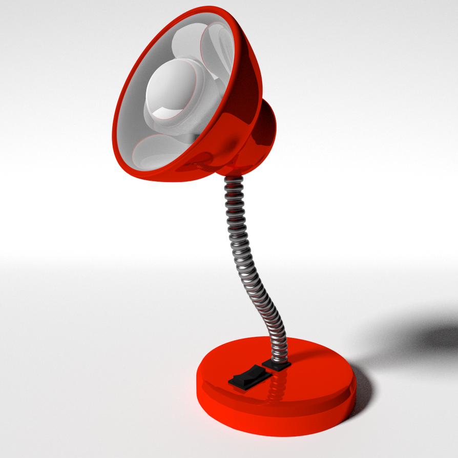red lamp by regusmartin - Red Lamp