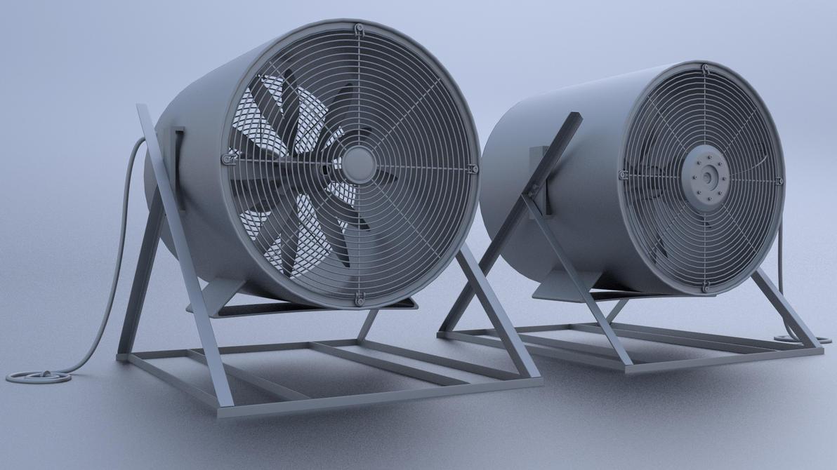 Industrial Size Fans : Industrial fan by regus ttef on deviantart