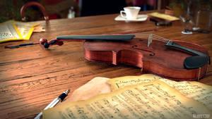 The Violin by RegusMartin