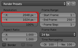 how to make my rendering resolution higher blender