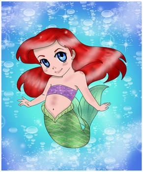 Chibi Ariel Collab