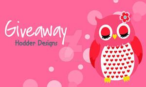Giveaway image for Hodder Designs