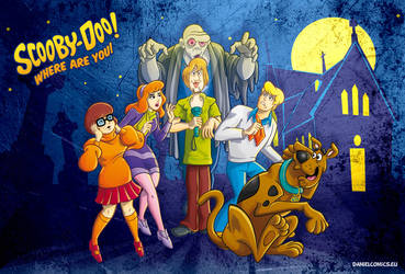 ScoobyDoo by DanielComics