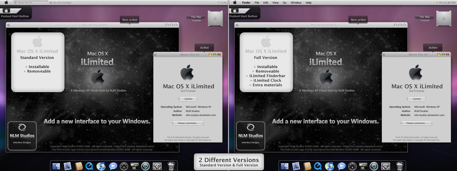 Mac OS X iLimited FinalPreview by NLM-Studios