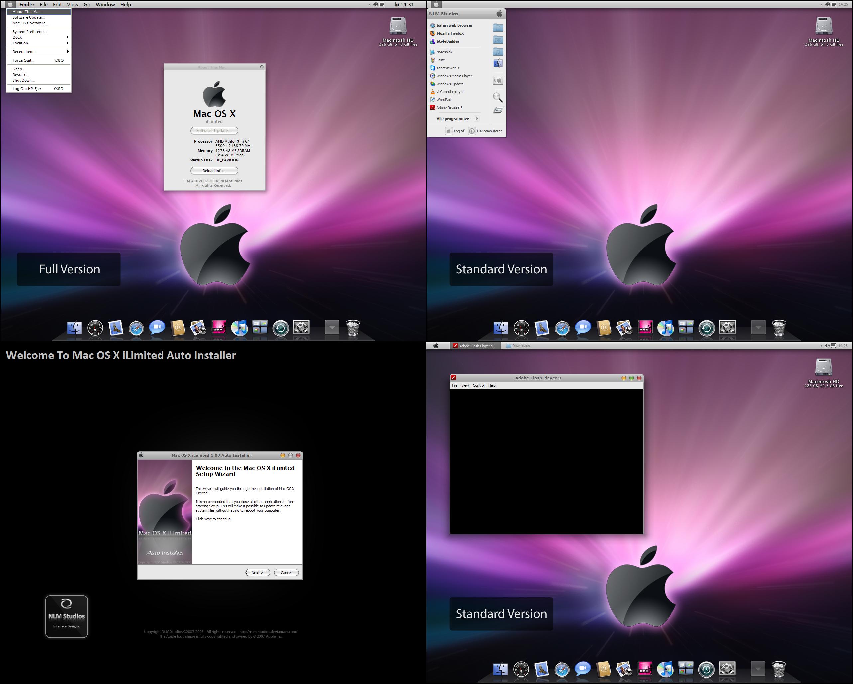 Mac OS X iLimited Screenshots by NLM-Studios