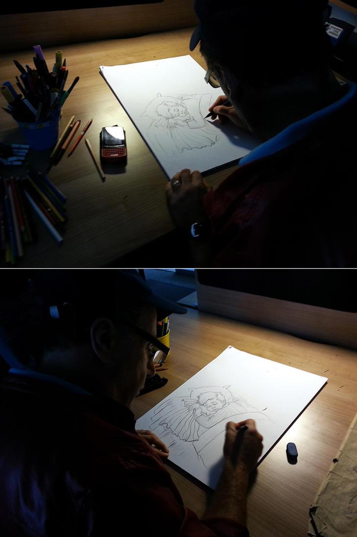 I am drawing for Kocaelispor's poster design by ertansertoz